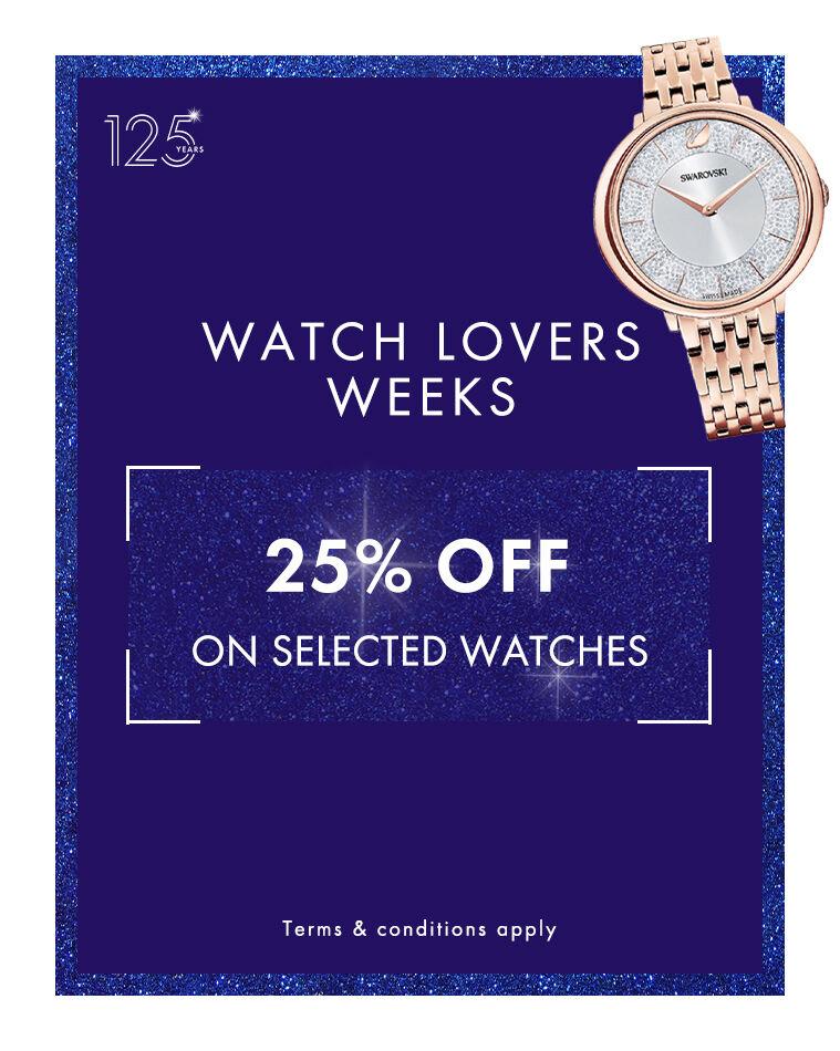 watch lovers week