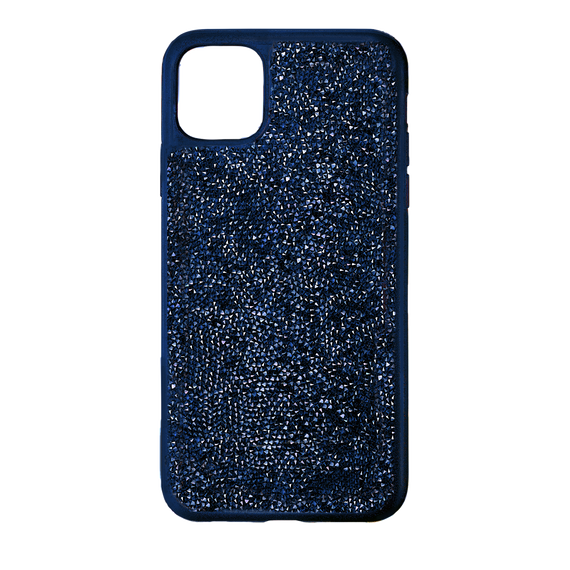 Glam Rock Smartphone Case with Bumper, iPhone® 12 Pro Max, Blue