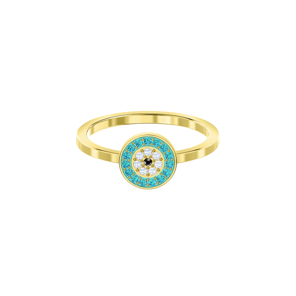Luckily Ring, Multi-colored, Gold plating