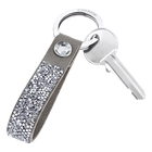 Glam Rock Key Ring, Grey