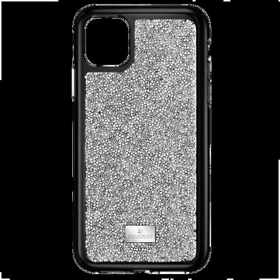 Glam Rock Smartphone Case with Bumper, iPhone® 11 Pro, Silver tone