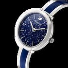 Crystalline Delight Watch, Metal Bracelet, Blue, Stainless Steel