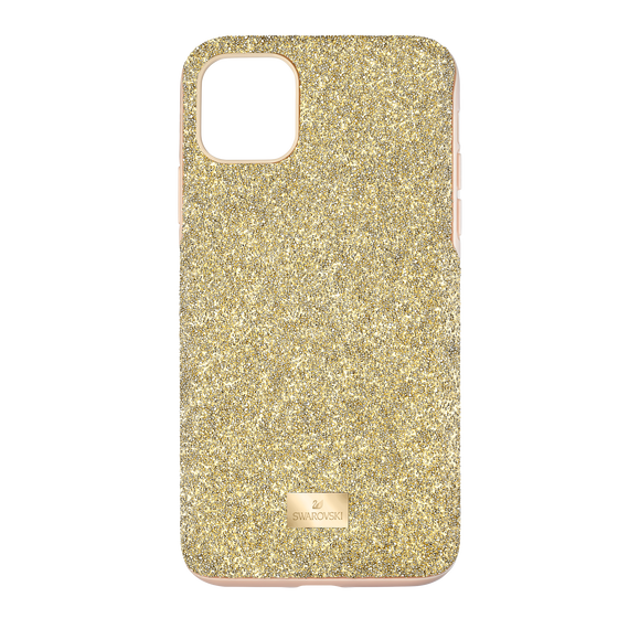 High Smartphone Case with Bumper, iPhone® 11 Pro Max, Gold tone