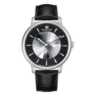 Atlantis Limited Edition Automatic Men's Watch, Leather strap, Black, Stainless steel