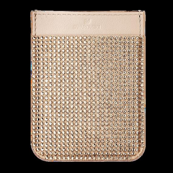 Swarovski Smartphone sticker pocket, Rose Gold