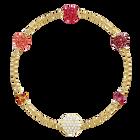 Swarovski Remix Collection Pop Strand, Multi-colored, Gold plating