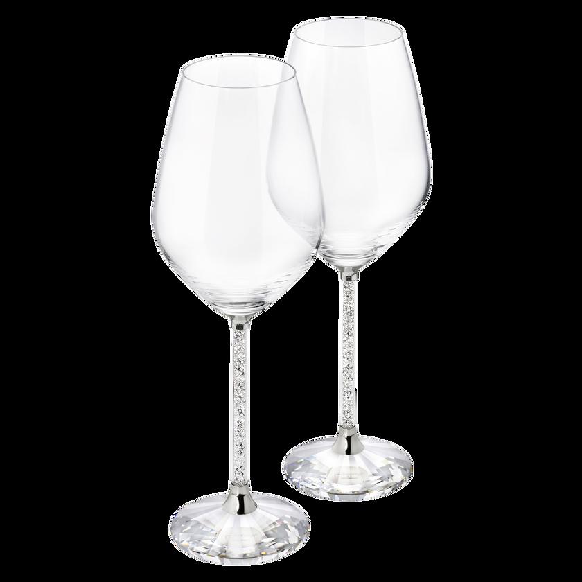Crystalline White Wine Glasses (Set 2)