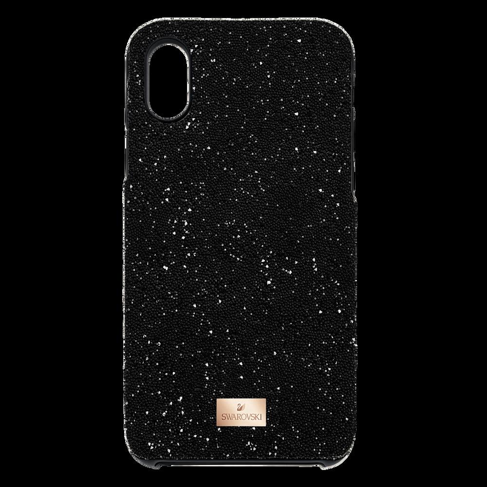 High Smartphone Case with Bumper, iPhone® X/XS, Black