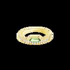 Oz Ring, White, Gold plating