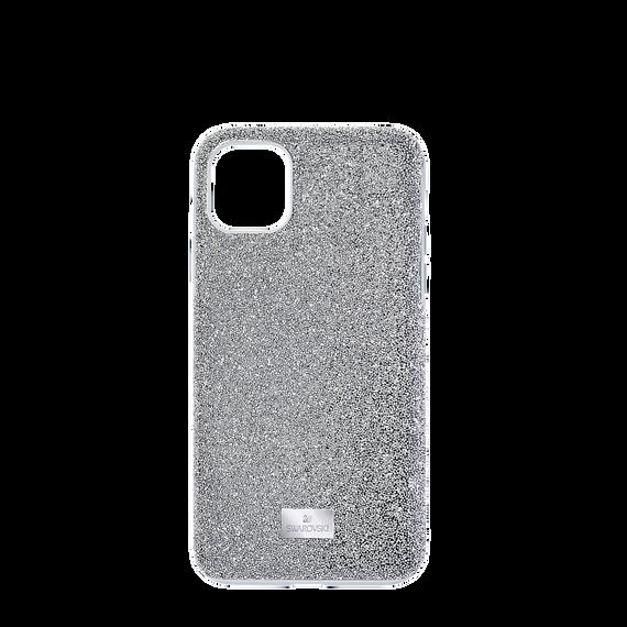 High Smartphone Case, iPhone® 12 mini, Silver Tone