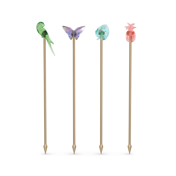 Jungle Beats Cocktail Stirrers Andoki, Set of 4