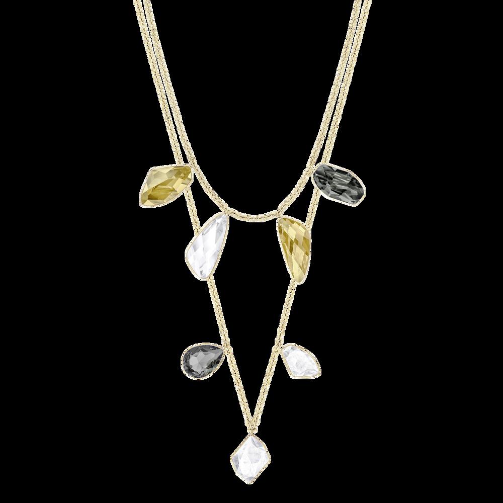 Prisma Versatile Necklace, Multi-colored, Gold-tone plated