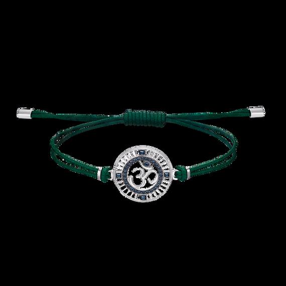Sand Bracelet, Green, Stainless steel