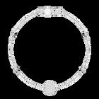 Swarovski Remix Collection Emotion Strand, White, Rhodium plated