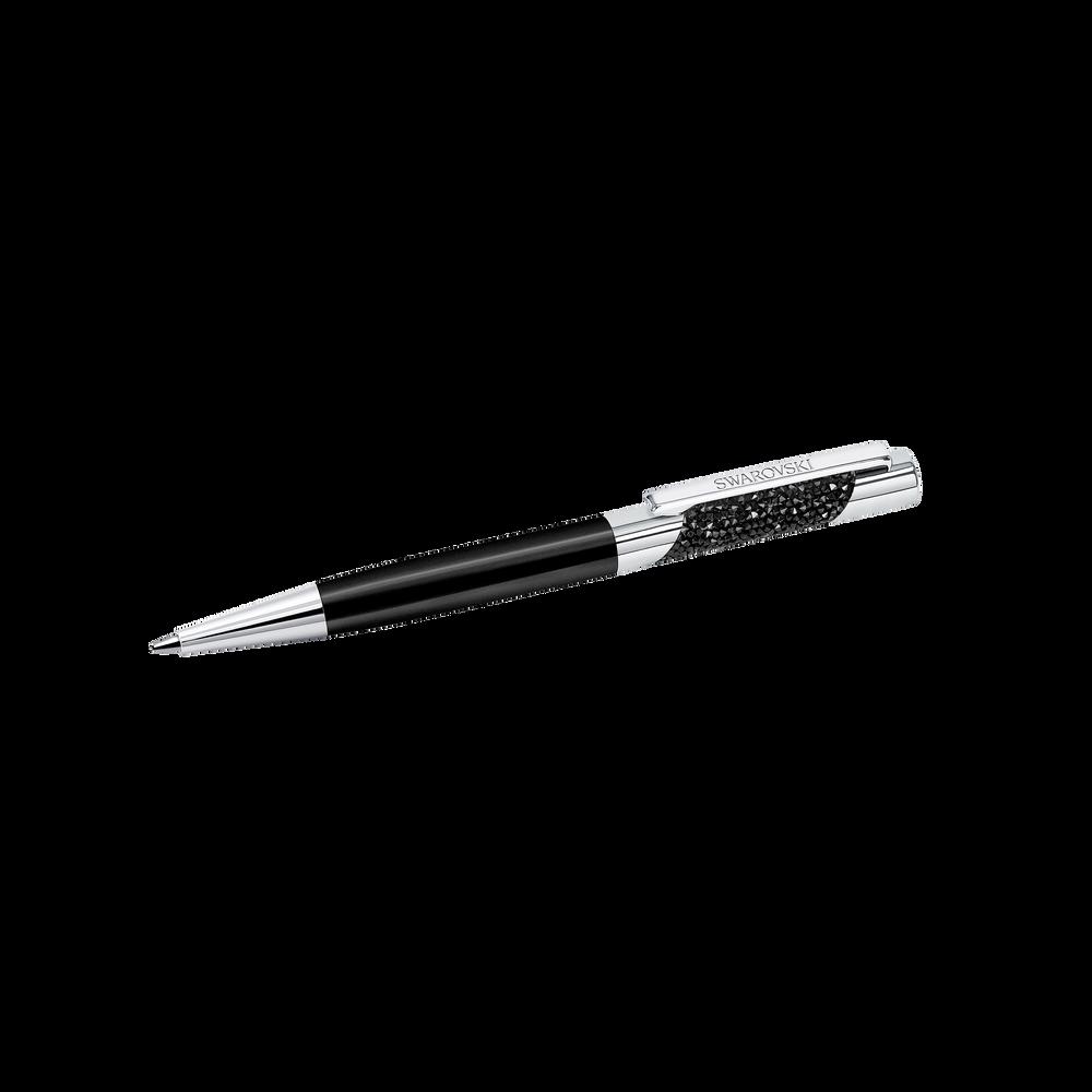 Eclipse Agenda Ballpoint Pen, Black, Chrome Metal