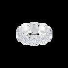 Angelic Ring, White, Rhodium Plating