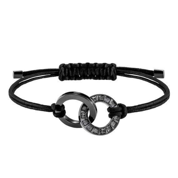 Alto Bracelet, Grey, Stainless steel