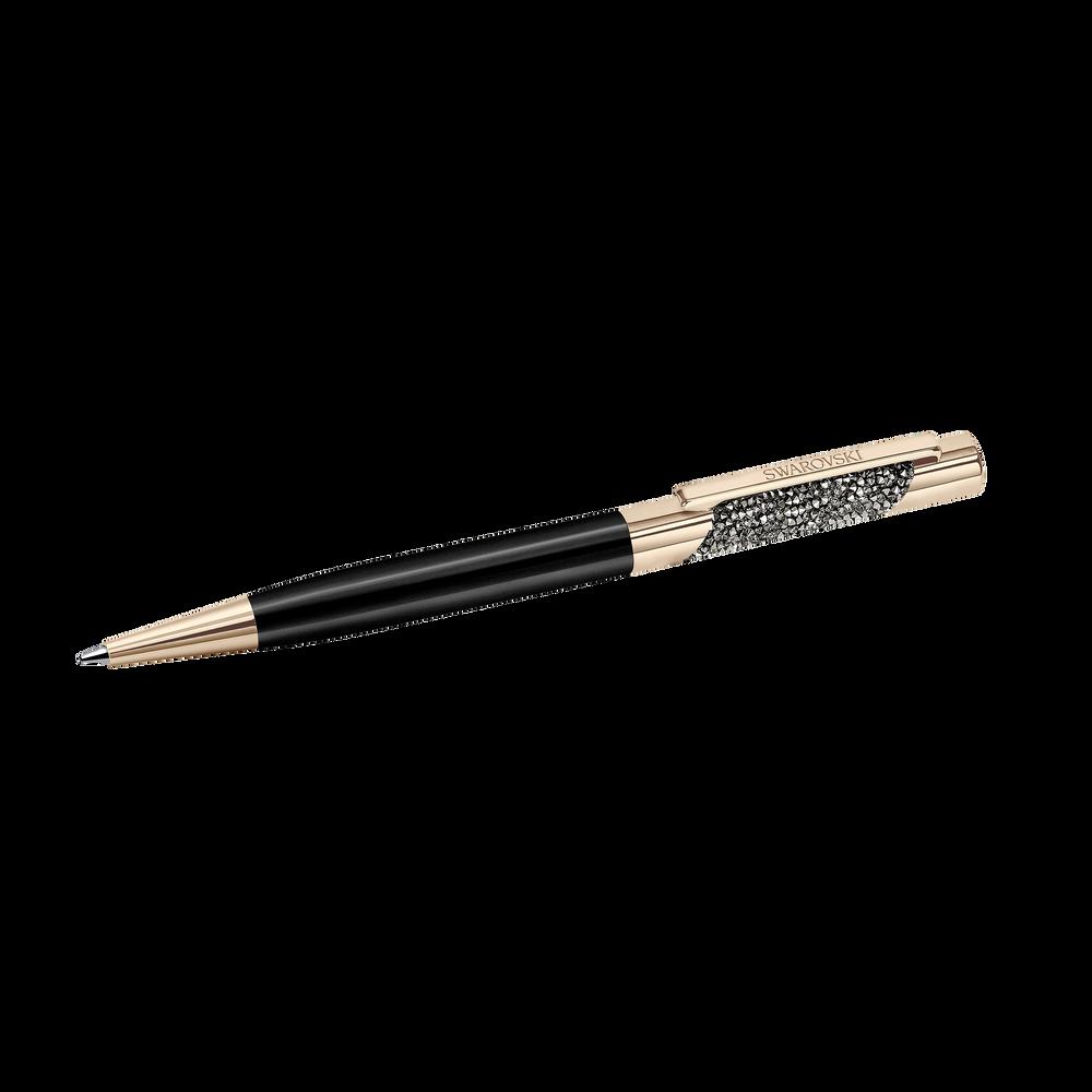 Eclipse Ballpoint Pen - Rose Gold Plated, Black