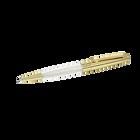 Crystalline Stardust Ballpoint Pen, Gold Plated