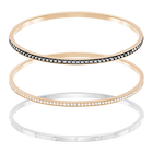 Hint Bangle Set, Multi-colored, Mixed plating
