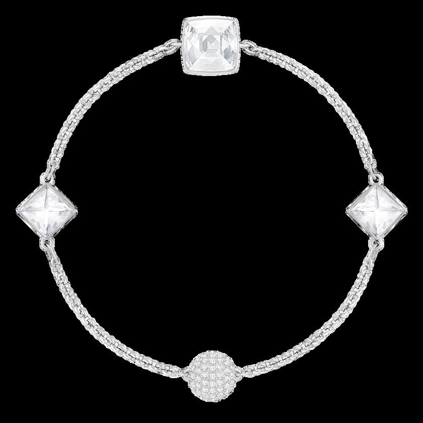 Swarovski Remix Collection Crystal Spike Strand, White, Rhodium plated
