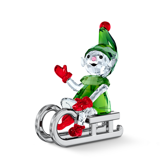 Santa's Elf on Sleigh