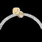 Zodiac II Pendant, Sagittarius, White, Mixed metal finish