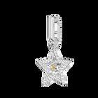 Swarovski Remix Collection Charm, Star, White, Rhodium Plating