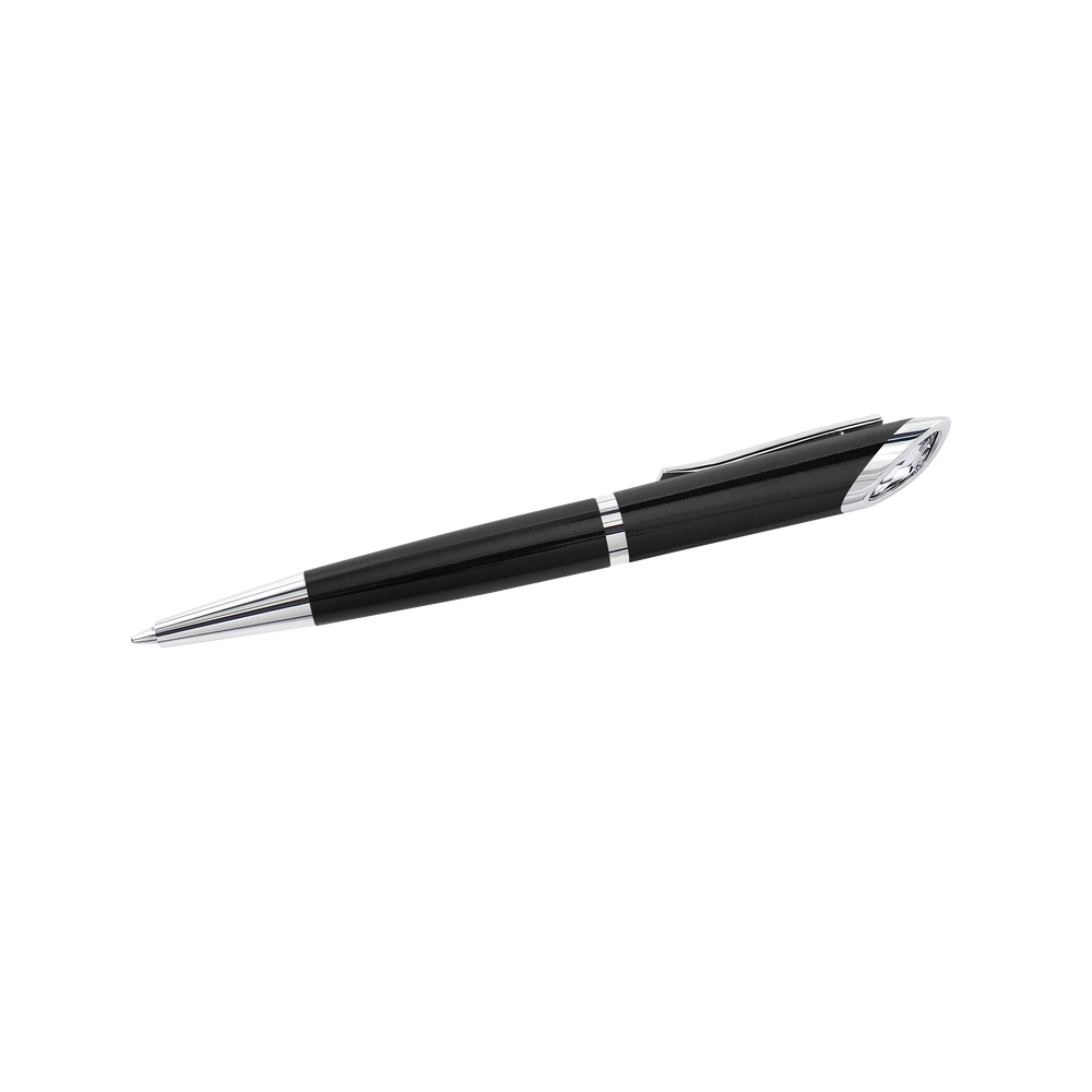 Crystal Starlight Agenda Ballpoint Pen, Black