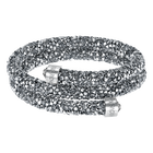 Crystaldust Double Bangle, Grey