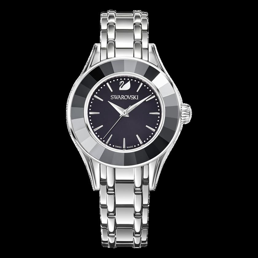 Alegria Watch, Metal bracelet, Black, Stainless steel