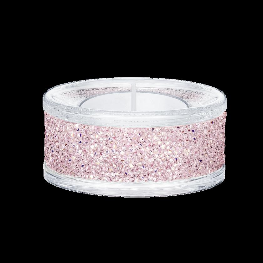 Shimmer Tea Light Holders, Pink