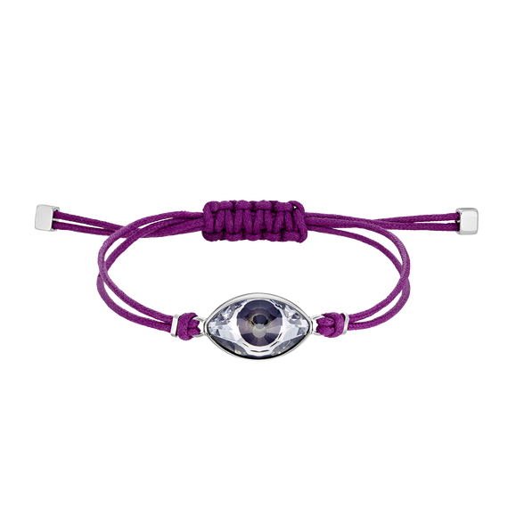 Swarovski Power Collection Bracelet, Fuchsia, Stainless steel