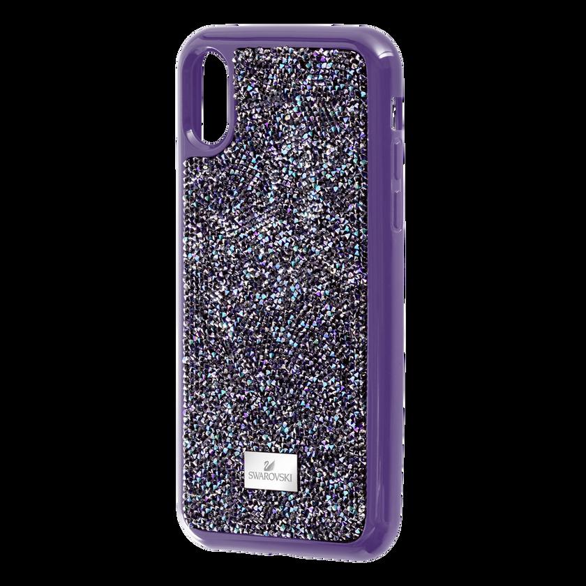 Glam Rock Smartphone case with Bumper, iPhone® X/XS, Purple