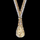 Energic Pendant, Large, Golden, Mixed Plating