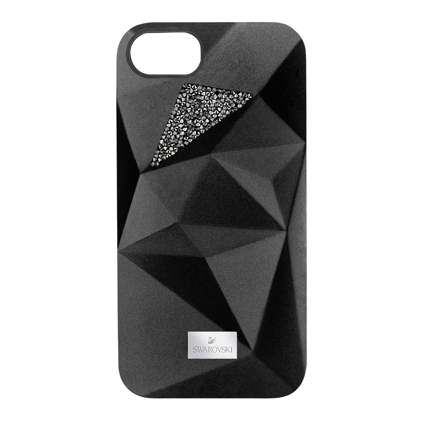 Facets Smartphone Case with Bumper, iPhone® 7, Black