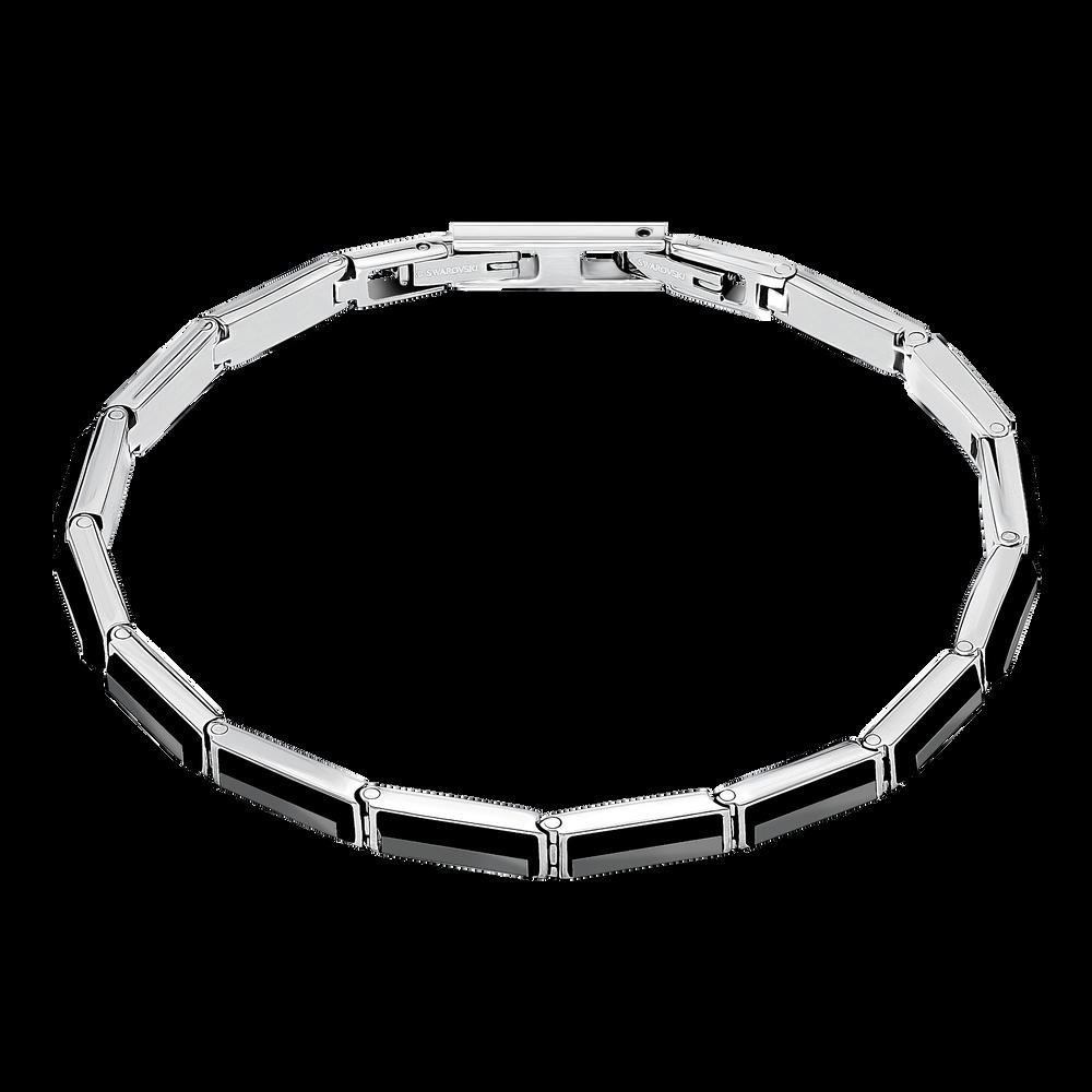 Govern Bracelet, Black, Stainless steel