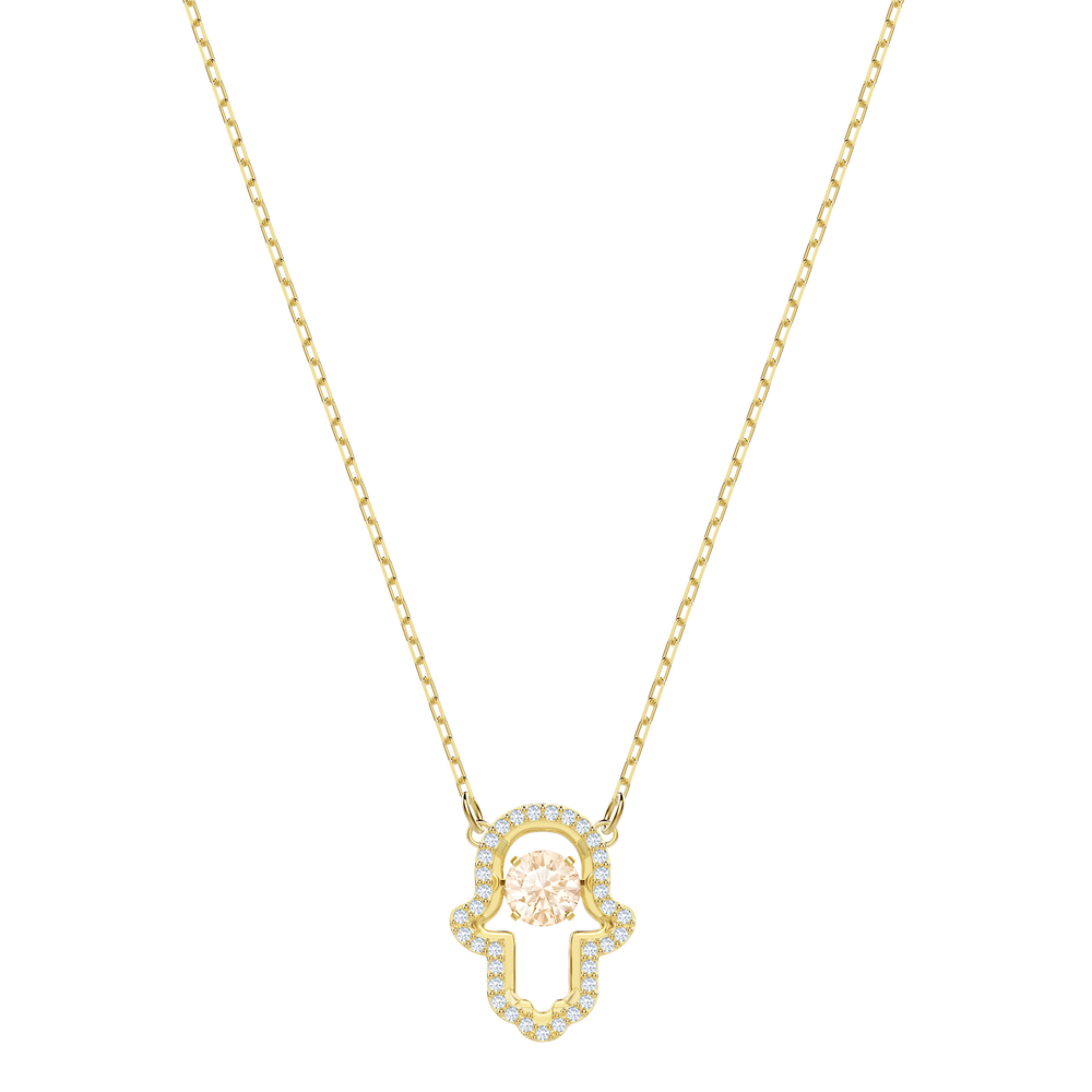 Luckily Necklace, Multi-colored, Gold plating