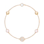 Swarovski Remix Collection Timeless Strand, Rose, Rose-gold tone plated