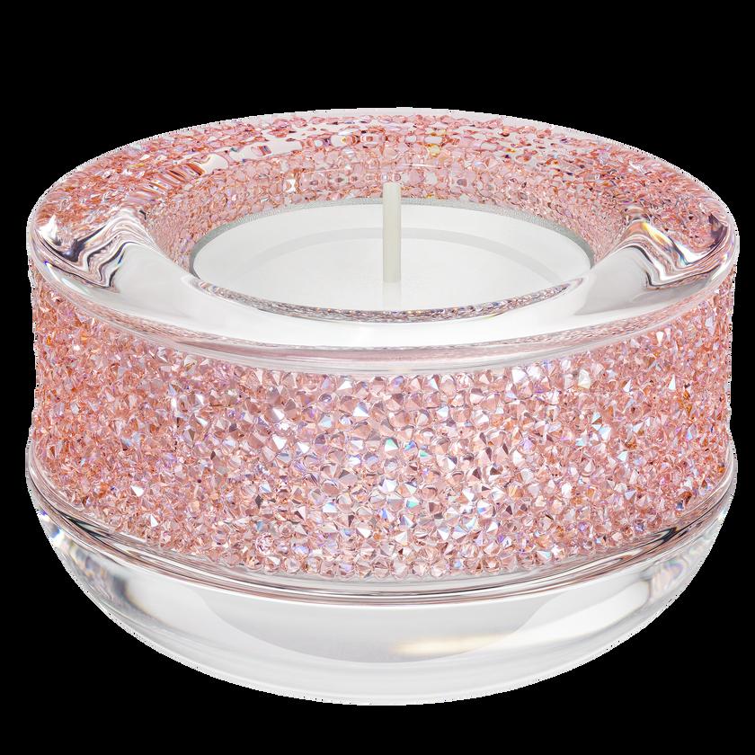 Shimmer Tea Light Holder, Pink