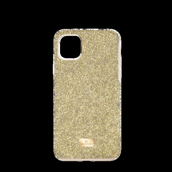 High Smartphone Case, iPhone® 12 mini, Gold tone