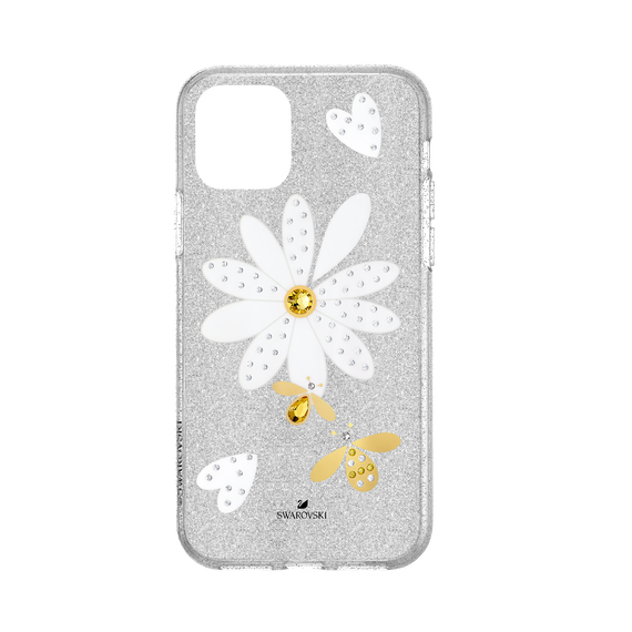 Eternal Flower Smartphone Case with Bumper, iPhone® 11 Pro, Light multi-colored