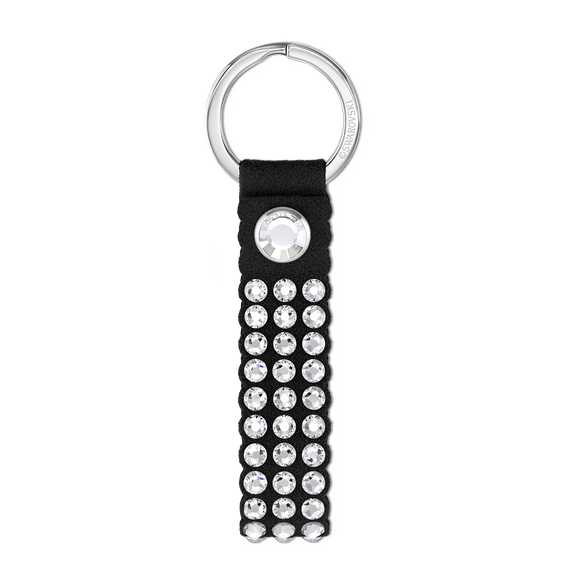 Swarovski Power Collection Key Ring, Black, Stainless steel
