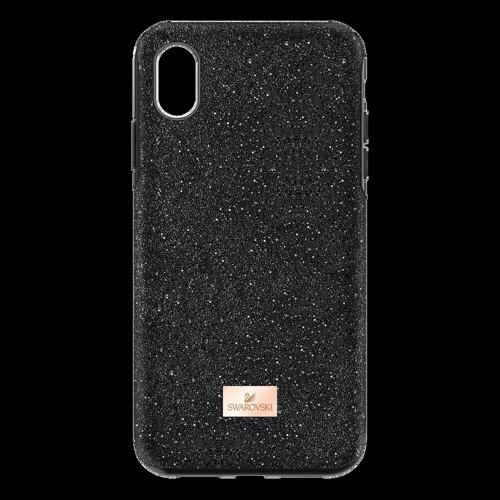 High Smartphone Case with Bumper, iPhone® XR, Black