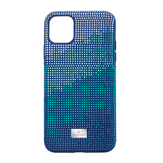 Crystalgram Smartphone Case with Bumper, iPhone® 11 Pro Max, Blue