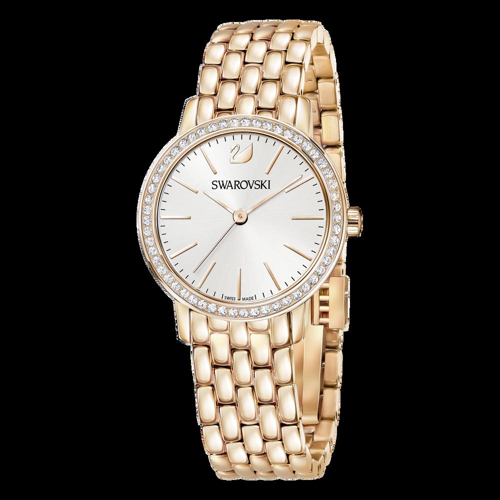 Graceful Mini Watch, Metal Bracelet, Rose Gold Tone