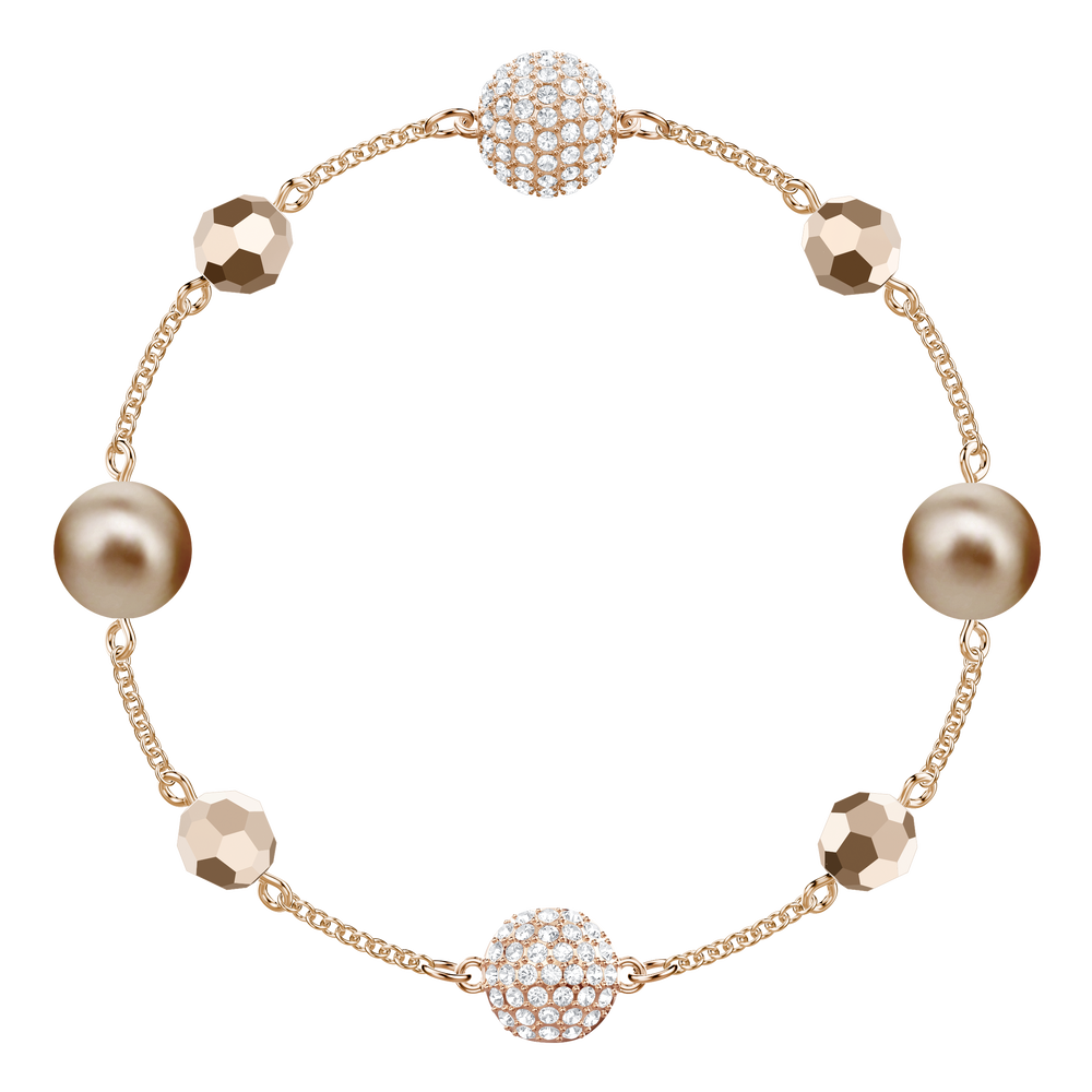Swarovski Remix Collection Strand, Multi-Colored, Rose Gold Plating