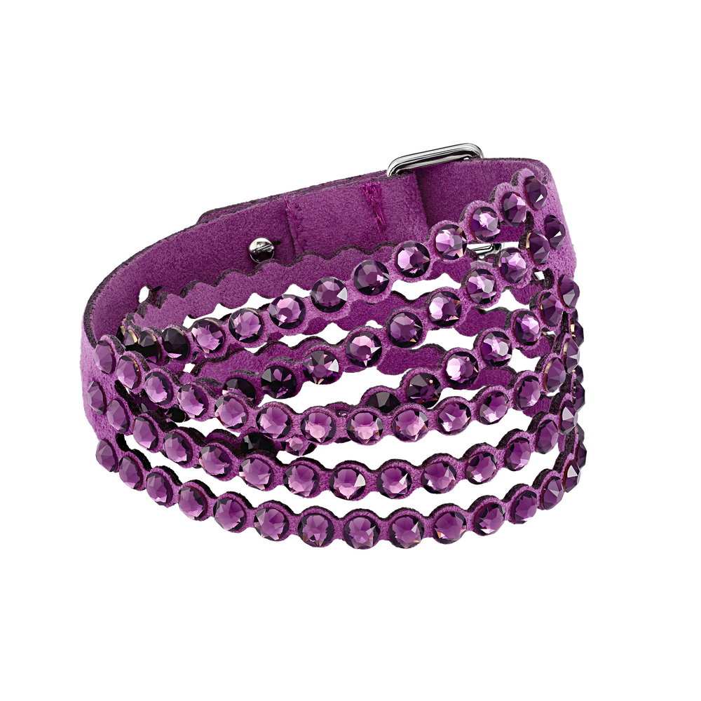 Swarovski Power Collection Bracelet, Fuchsia