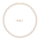 Angelic Necklace, White, Rose Gold Plated