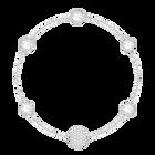 Swarovski Remix Collection, Timeless, White, Rhodium Plated
